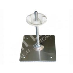 Holder spare wheel in aluminum