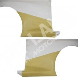 Peugeot 106 MAXI PHASE 2 Coppia protezioni fiancate posteriori in Kevlar