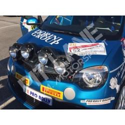 Renault Twingo R1 Portafari da paraurti in carbonio