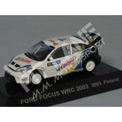 Ford Focus WRC 2003 Finland Rally Race Car n°4