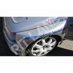 Renault CLIO MAXI Paar Frontkotflügel aus Fiberglass