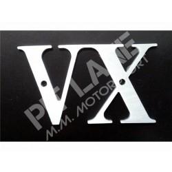 Lancia 037 VX aluminum nameplate