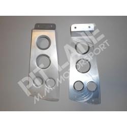 Lancia DELTA EVOLUZIONE - Lancia DELTA INTEGRALE 16v Supporti cruscotto in alluminio