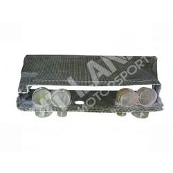 Lancia S4 Convogliatore aria al radiatore olio in Kevlarcarbonio