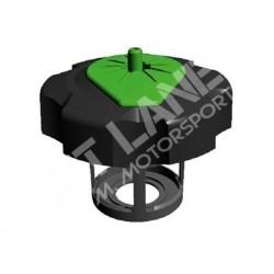 TAPPO SERBATOIO TUFF JUG nero / verde per KAWASAKI