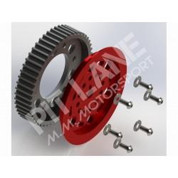 Guide Pulley V-Ribbed Belt ADJUSTABLE Pump Oil Renault