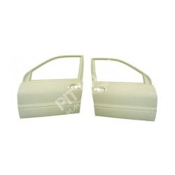Mitsubishi EVO 7-8-9 Pair of front doors in fiberglass