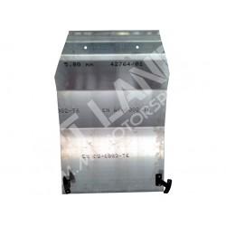 Lancia DELTA EVOLUZIONE Protezione motore in Anticorodal spessore 5 mm