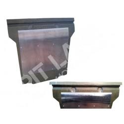 Lancia DELTA EVOLUZIONE - Lancia DELTA INTEGRALE 16v Protezione motore in carbonkevlar + lastra in anticorodal spessore 3 mm