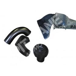 Lancia DELTA EVOLUZIONE - Lancia DELTA INTEGRALE 16v Modifying air filter unit in carbon fibre