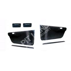Suzuki SWIFT Pair of front door panels in carbon fibre