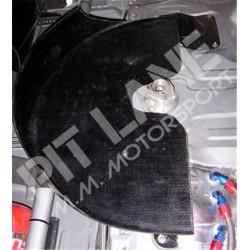 Mitsubishi EVO 8-9 Holder spare wheel in carbon fibre