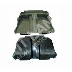 Mitsubishi EVO 10 Cover serbatoio sottopianale in carbonio e kevlarcarbonio