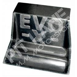Mitsubishi EVO X Pedana poggiapiedi navigatore in carbonio