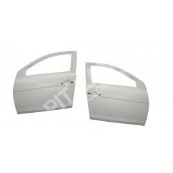 Mitsubishi EVO X Coppia portiere anteriori in vetroresina complete di attacchi come originali