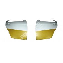Mitsubishi EVO X Coppia protezioni porte posteriori in kevlar