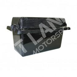 Mitsubishi EVO X Porta batteria in carbonio