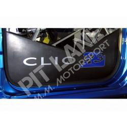 Renault CLIO R3 - Renault R3T Coppia chiusura laterale rollbar in carbonio