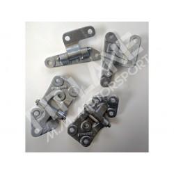 Lancia 037 Hinge kit for doors in aluminium