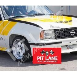 Opel ASCONA 400  Coppia flap parafanghi anteriori in vetroresina