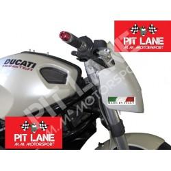 DUCATI MONSTER 696-796 2008-2015 Cupolino Racing in vetroresina con attacchi