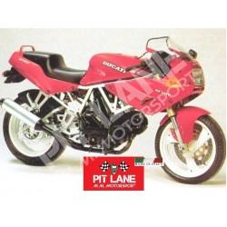 Ducati SS 350 - SS 400 1994-1997 KIT Street replica Fairing in fiberglass