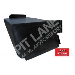 Abarth Fiat 500 Pedana Poggiapiedi Pilota in Carbonio