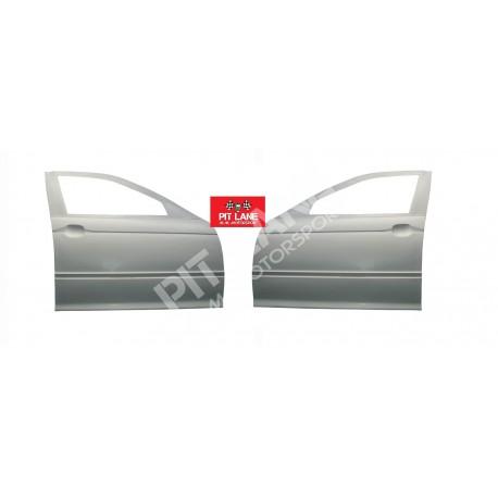 Bmw M3 E46 5 Puertas Dos Puertas Delanteras En Fibra De Vidrio