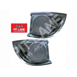 Citroen C2 S1600 Pair of Lamp Pods for Bumper in carbonfiber