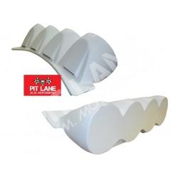 Citroen DS3 R3T Lamp pods for bumper in fiberglass 4 X 200