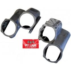 FIAT PUNTO S1600 Abarth Pair of lamp pods in carbonfiber 4 x 200