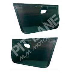 Mitsubishi EVO 6 Pair of front door panels in carbon fibre