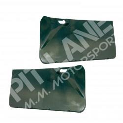 Mitsubishi EVO 7-8-9 Pair of front door panels in carbon fibre