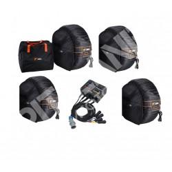 Termocoperte AUTO Termocoperte Kit PRO DIGIT colore nero con centralina elettronica di controllo 40/90°