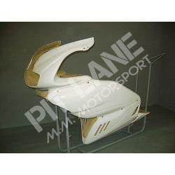 DUCATI SS 750 - 800 - 1000 1998-2004 Carena Anteriore Originale con attacchi faro in vetroresina