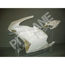 Ducati 848 - 1098 - 1198 2007-2011 KIT Racing in vetroresina