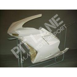 Ducati 848 - 1098 - 1198 2007-2011 Carena Racing in vetroresina