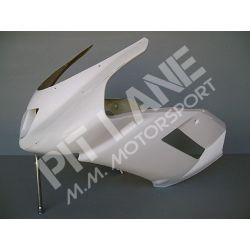 KAWASAKI ZX6R 2007-2008 Carena Superiore Racing in vetroresina