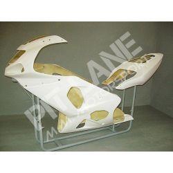 SUZUKI GSX-R 600 / 750 2001-2003 Road Kit fairing in fiberglass