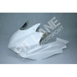 Yamaha R3 2019 RACING upper fairing in fiberglass