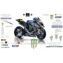 Race replica stickers kit Yamaha MotoGP 2019
