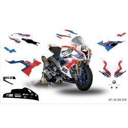 Race replica stickers kit BMW SBK 2019