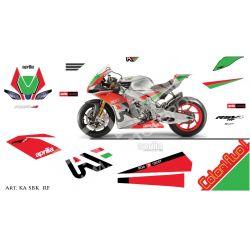 Race replica stickers kit Aprilia SBK RSV4-RF