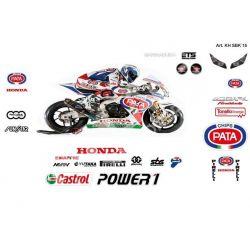 Race replica stickers kit Honda SBK 2015