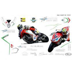 Kit adesivi Race replica MV agusta F3 SS
