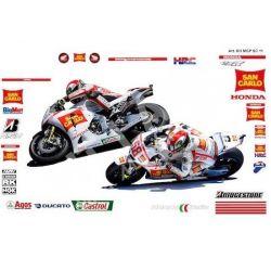 Race replica stickers kit Honda MotoGP San Carlo 2011