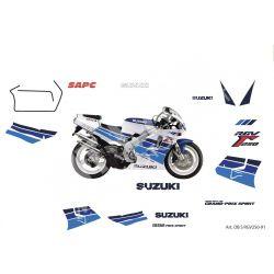 Kit adesivi Replica Suzuki gamma 250 1991