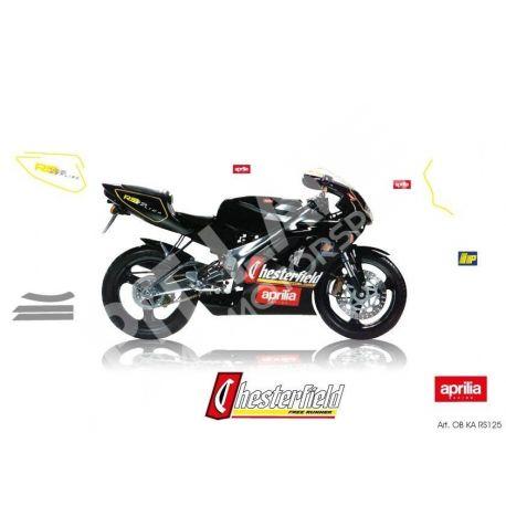 Replica stickers kit Aprilia RS 125