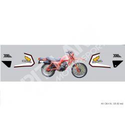 Kit adesivi Honda 125 XL Red Version 1982