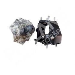 LANCIA DELTA INTEGRALE 16v - LANCIA DELTA EVOLUZIONE - LANCIA 4WD Pumps bracket with balance bar and Kevlar screen